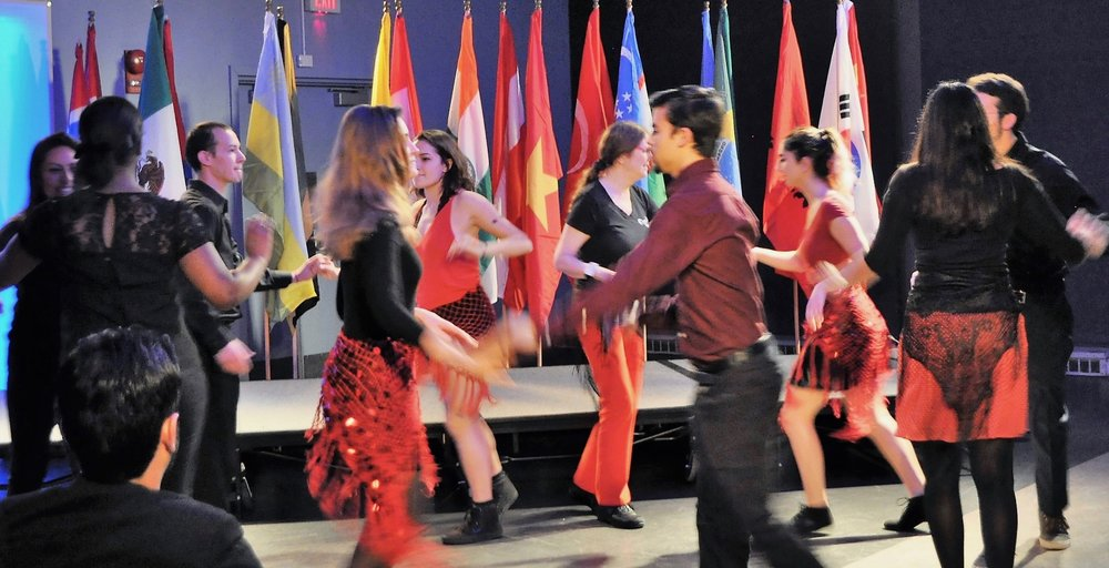 American University Students Perform at their International Fall Festival