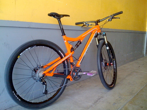 Santa Cruz 29er built and ready for testing, dont expect to see one on the Bike Culture floor for a little while yet