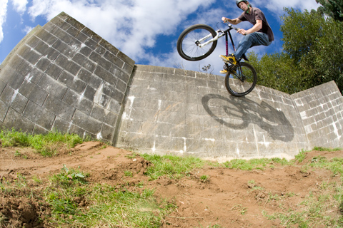 Wall Ride, Invercargil. Photo Caleb Smith