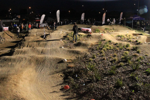 The ADB Pump Track, Auckland