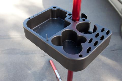 Feedback-tray