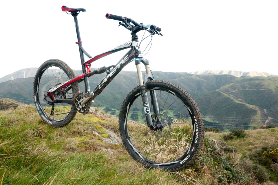 The latest addition to the Spoke long term test fleet, Lapierre's Caron Zesty 714