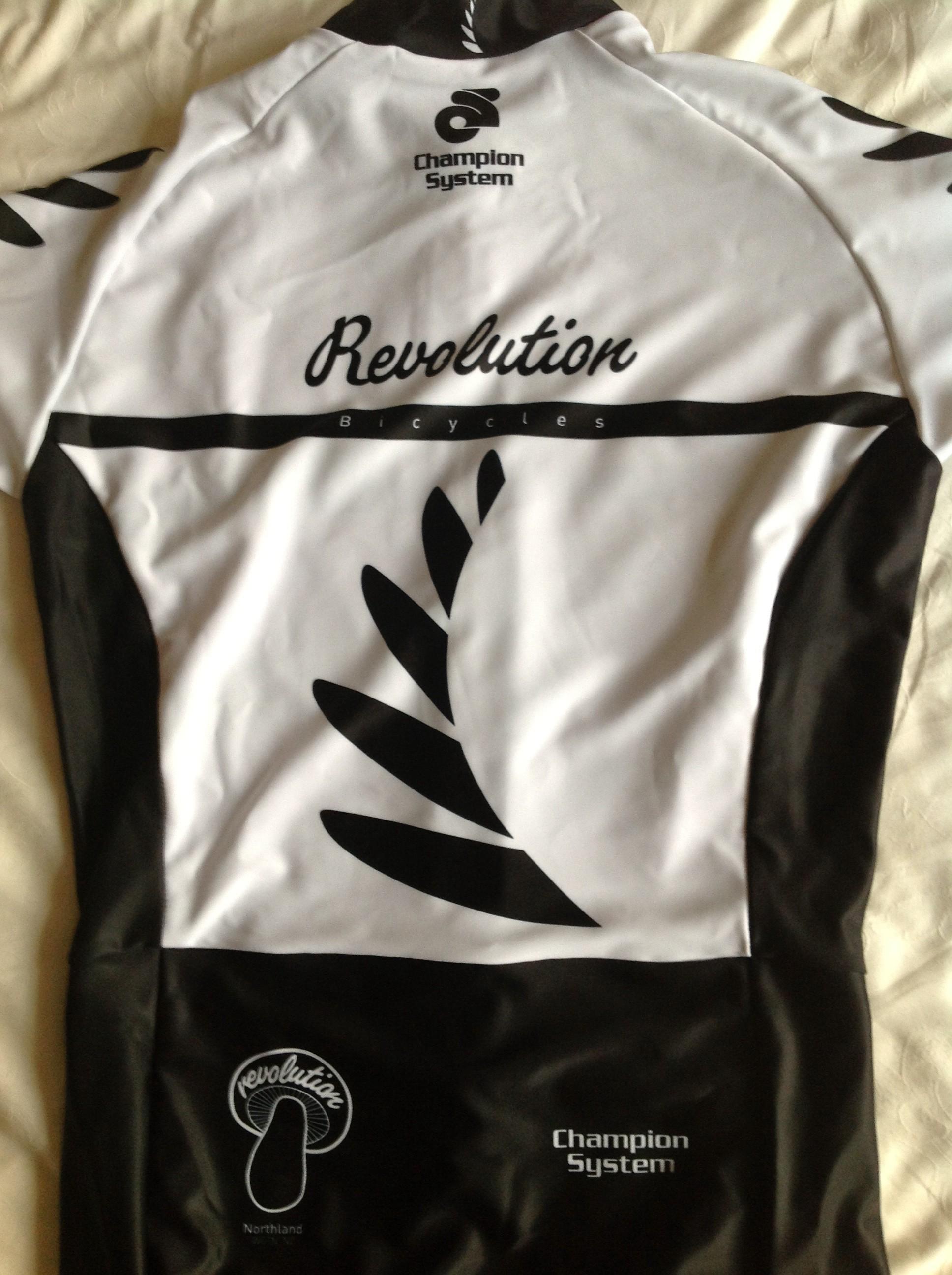 Revolution NZ skinsuit rear