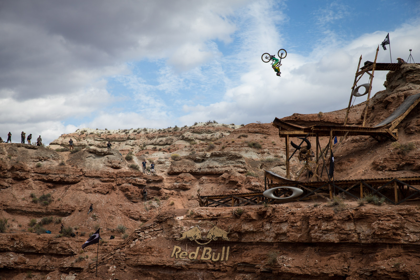 Cam Zink stomps backflips his way to third place. Photo Christian Pondella/ red bull content pool