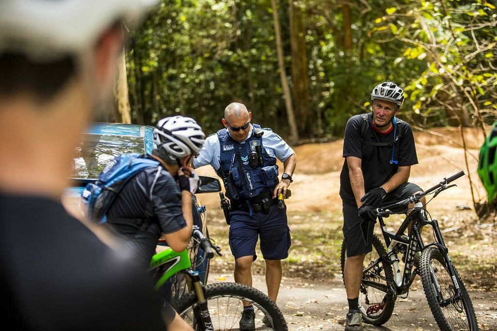 Got a problem with mountain bikers? Tell it to Frank, president of the Cairns MTB Club.