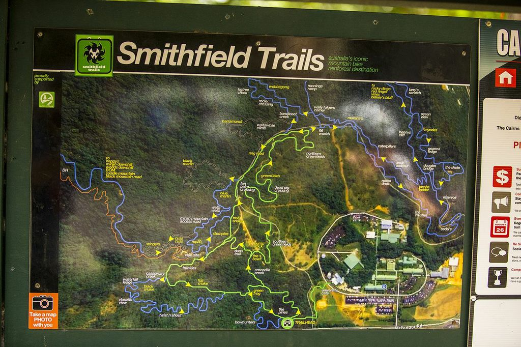 There's a growing number of trails being built or resurrected in the Smithfield area, and  not just for World Cup racing. This is an ongoing initiative to bring mountain bike tourism to the forefront in Cairns and surrounds.