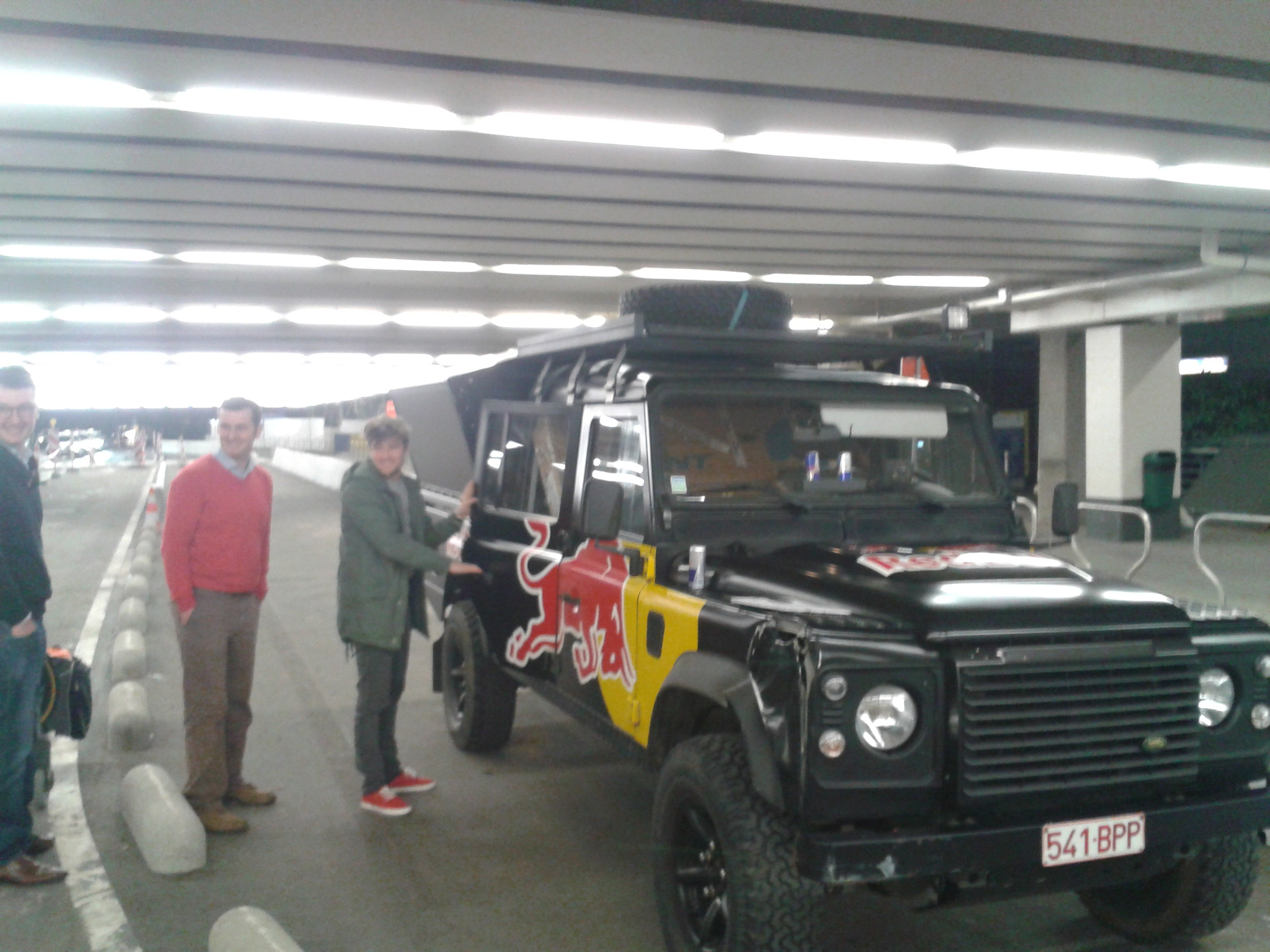 red bull wagon pickup