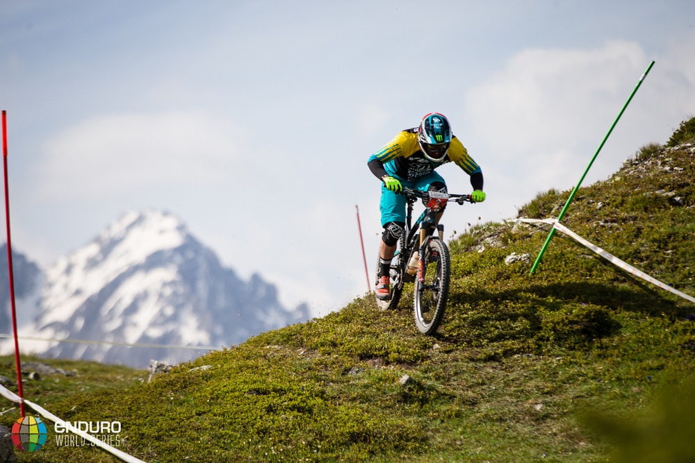 Jared Graves on stage 3, EWS round 3 2014, Valloire. Photo by Matt Wragg