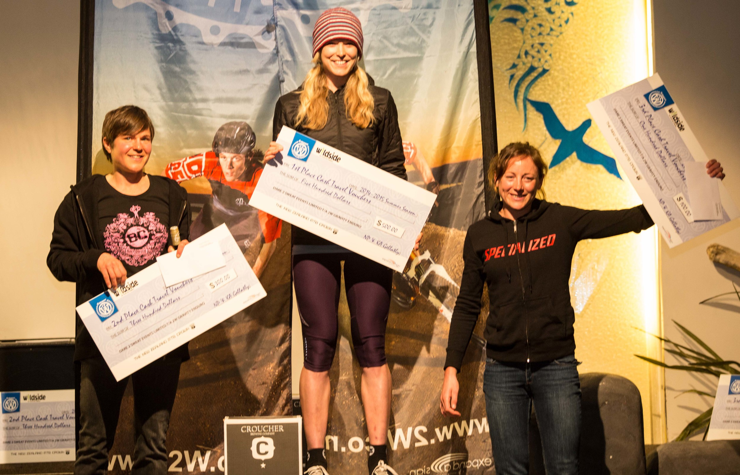Jono Church rounds out the women's podium in fourth. Photo by Jamie Troughton Dscribe Media Services