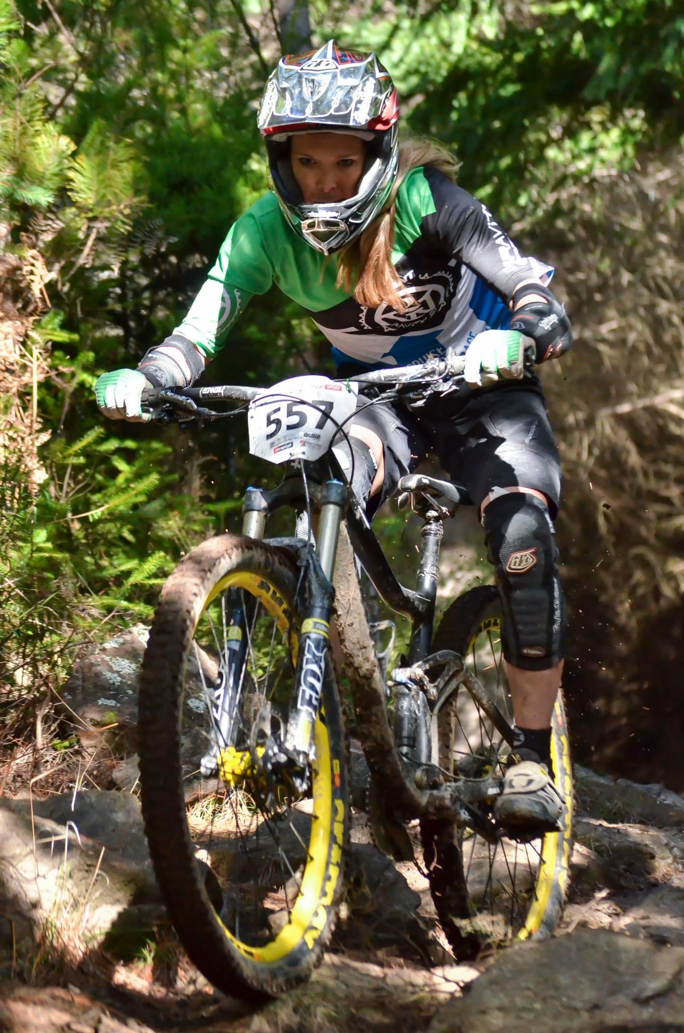 Crankworx Rotorua Enduro wildcard Raewyn Morrison