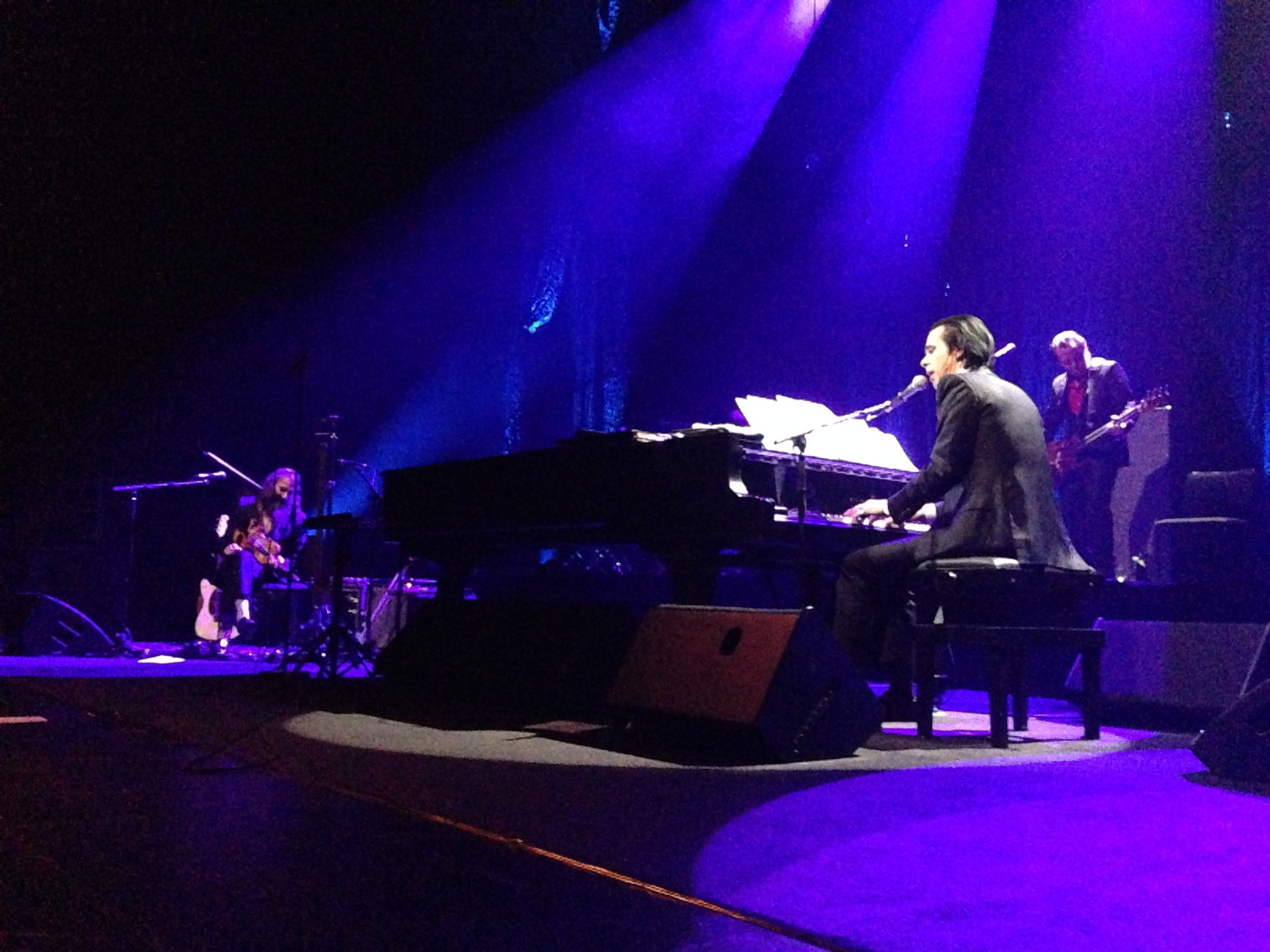 Nick Cave, Nick Cave and the Bad Seeds, Wellington, St James Theatre, gig, review, live,