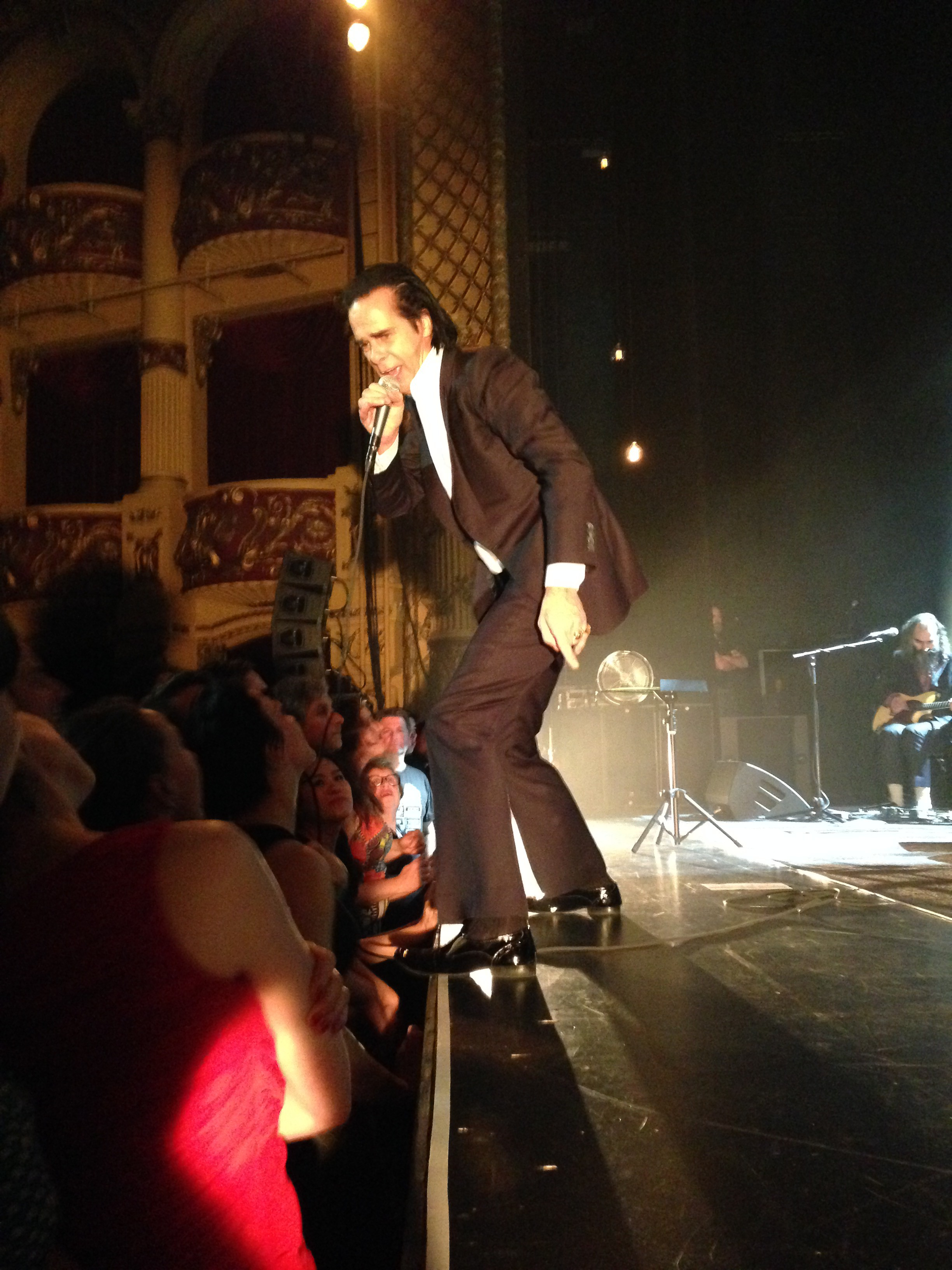 Nick Cave, Bad Seeds, live, Wellington