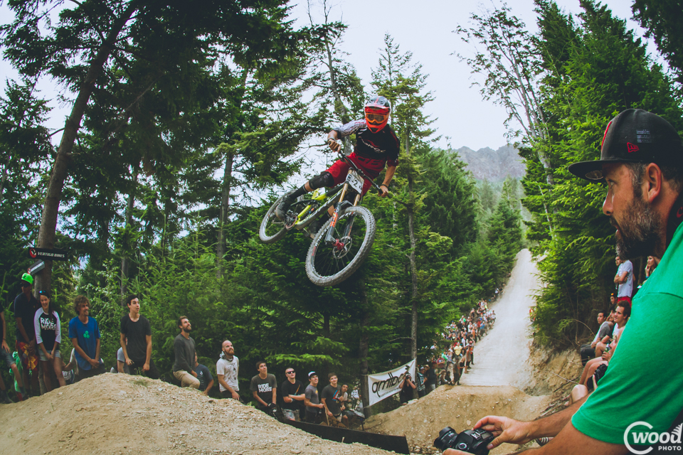 How Sam Blenkinsop rode out some of these whips is beyond my knowledge. Wheel sets were punished for sure.