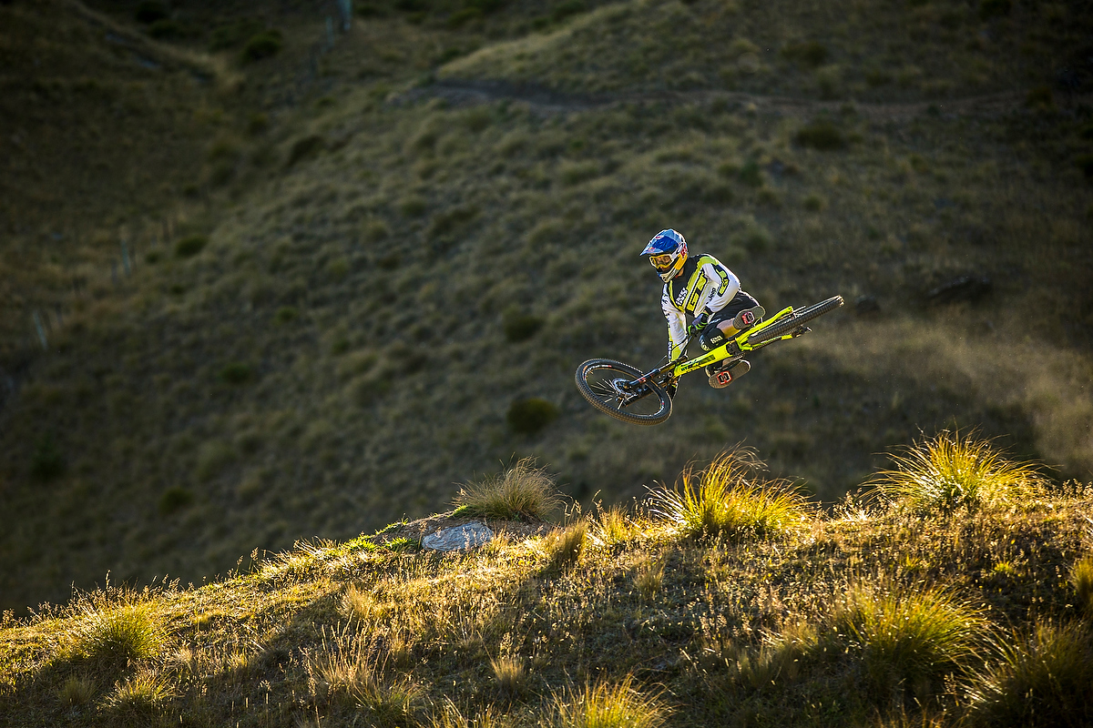 Gee Atherton, Pre Season Riding Camp, Queenstown.