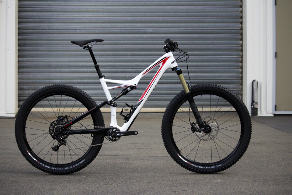 a335c2407c3 Incoming: Specialized Stumpjumper FSR Carbon Comp 6Fattie. September 29 ...