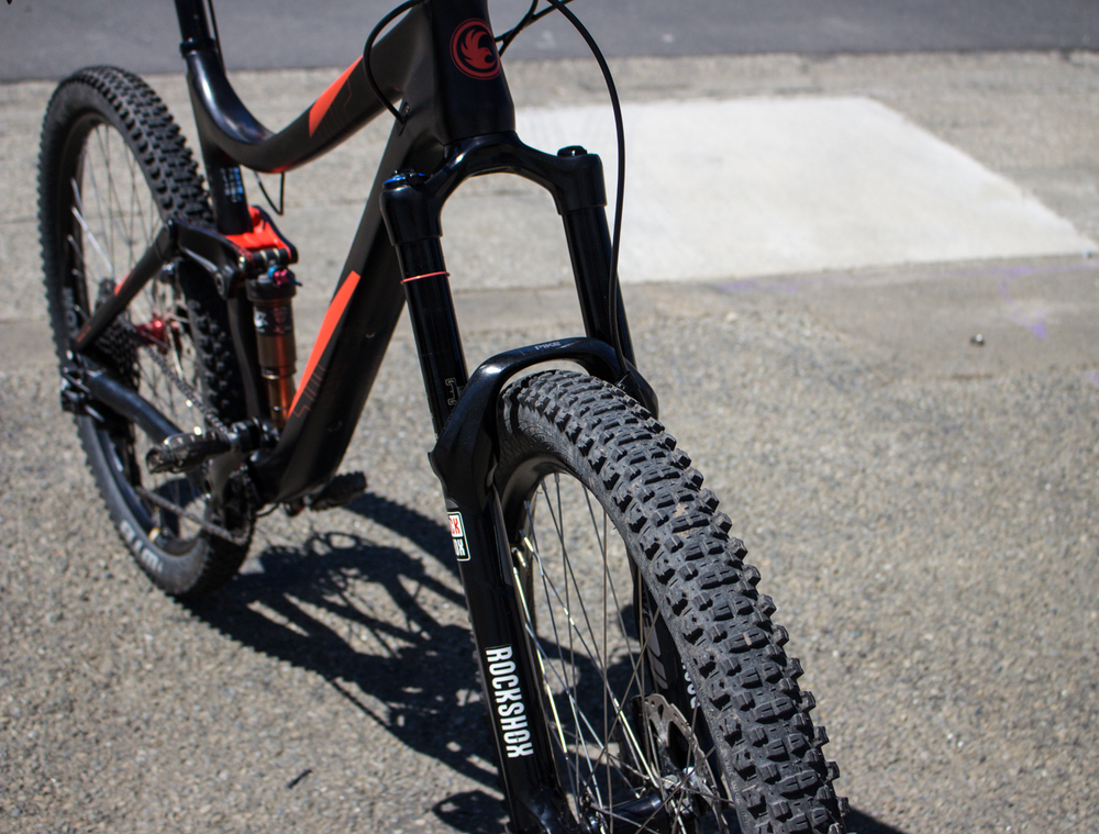 The RockShox Pike . . . .  setting the bar.