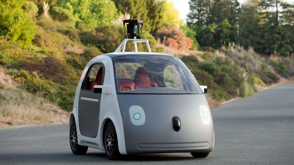 Google self-driving car . . . . all it needs is a bike rack . . . and maybe 4x4.