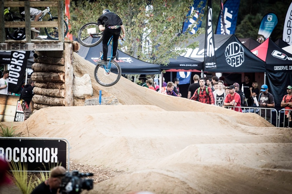 Crankworx Rotorua was a huge hit with riders and spectators alike. Photo: Caleb Smith