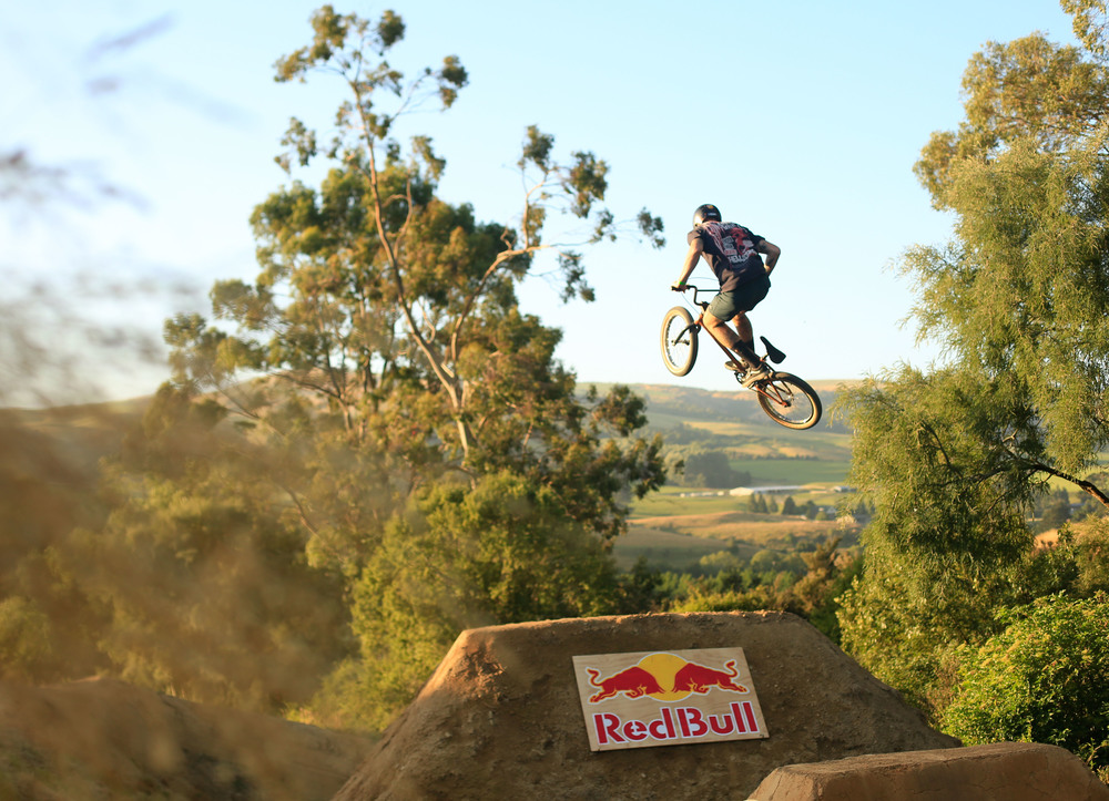 The two Red Bull jumps had the biggest tricks thrown down on them, from a double backflip to a triple tailwhip.