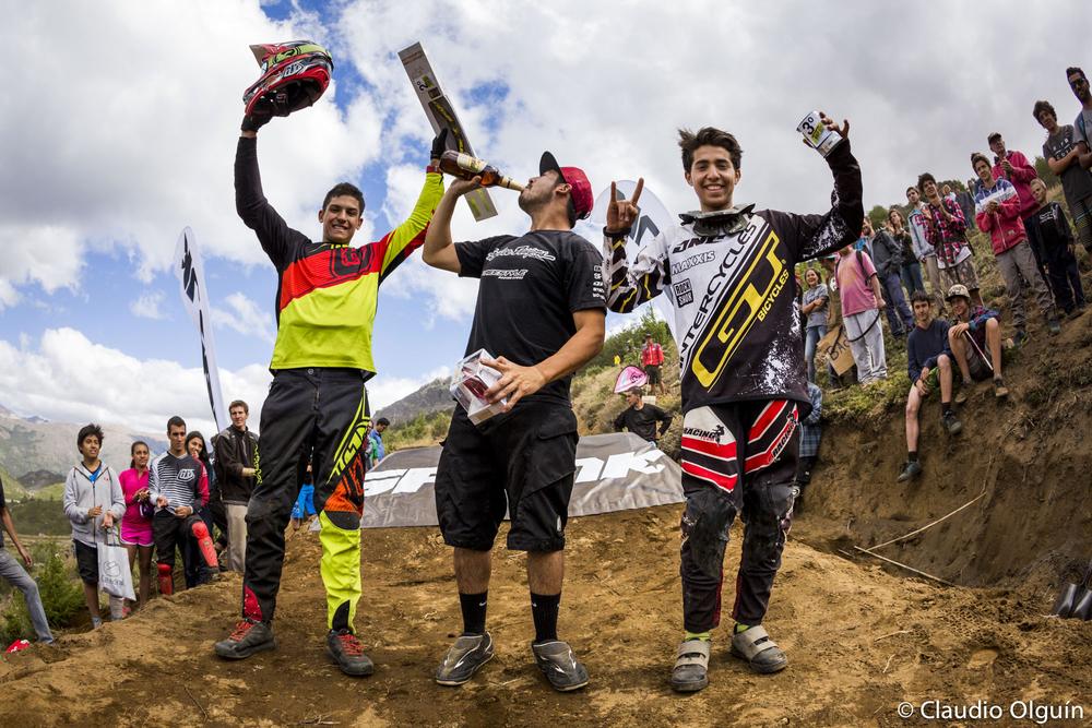 From left: Sebastian Alfaro, Mario Jarrin and Felipe Agurto