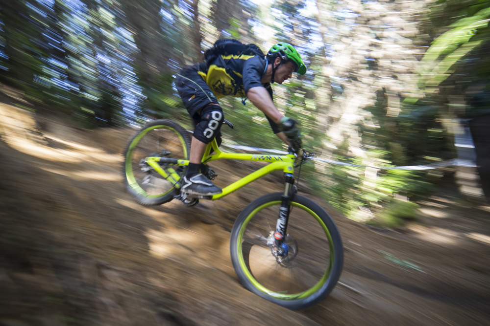 Rotorua Redwoods - Stage 3 - Rollercoaster.....Enduro racing and pan shots are so hot right now