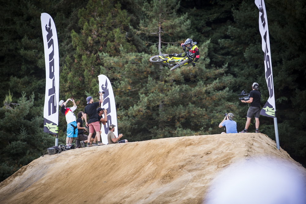 Tyler McCaul oozing moto-style on his way to 2nd place