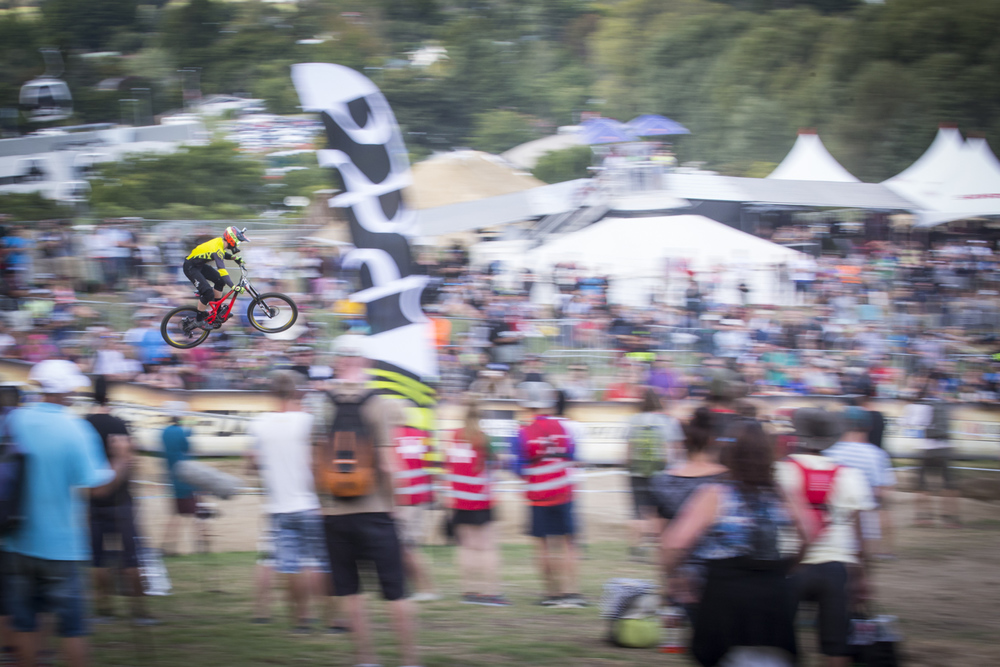 George will be one to watch on this year's World Cup DH circuit
