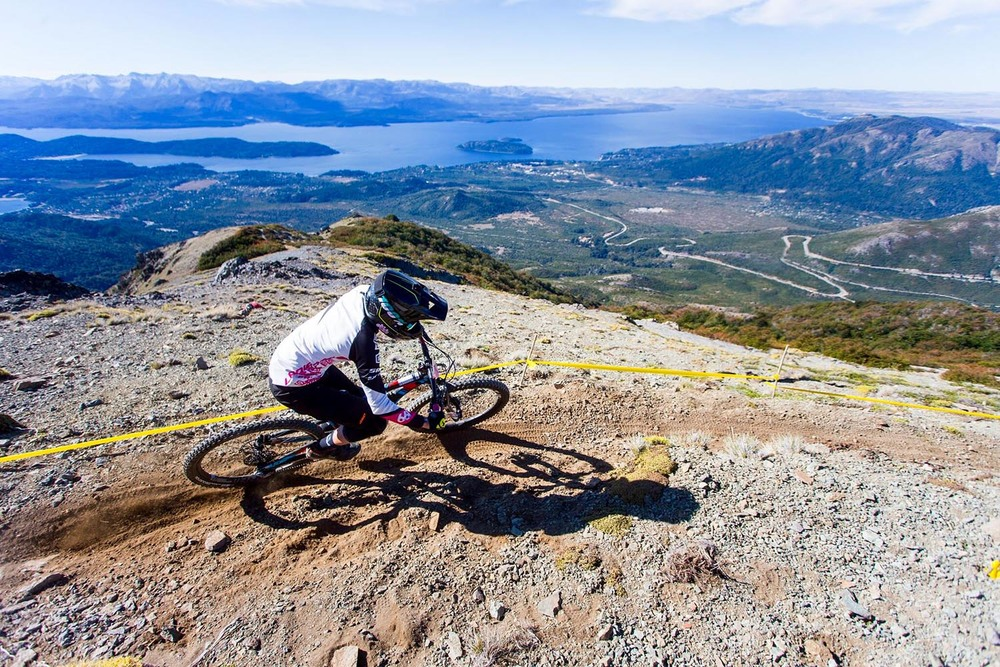 Incredible panoramic view at the top of stage street. Photo: Lapierre- Jeremie Reuiller