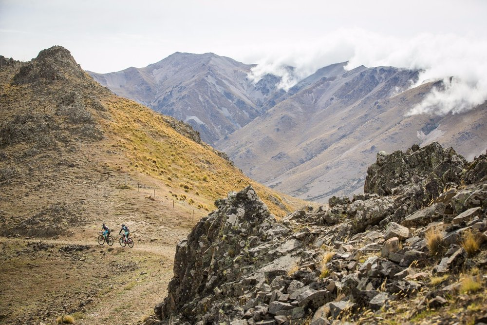 Riders in the Four Day Traverse just have one day to go