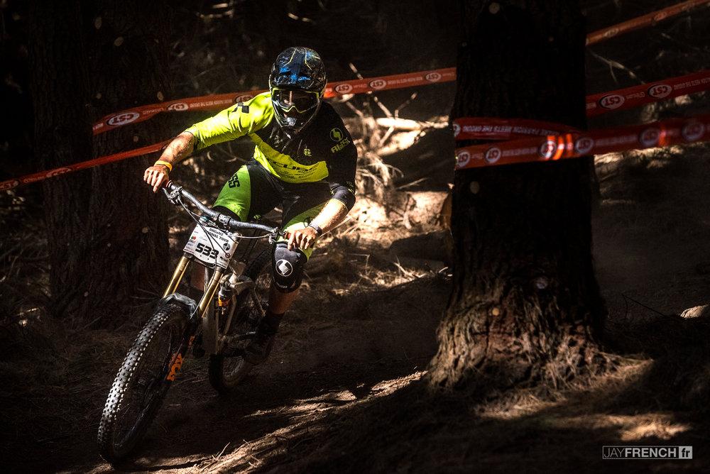 Matt Walker rode into 3rd