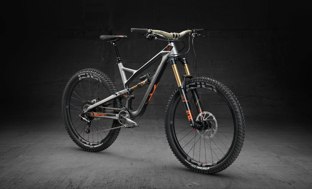 Jeffsy CF Pro Race - the only model in the range with 160mm of travel $7,999 NZD