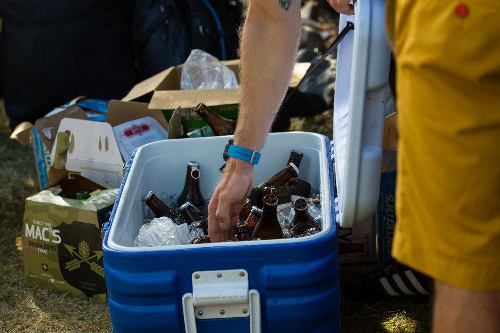 Beers in a chilli bin, definitely need beers!