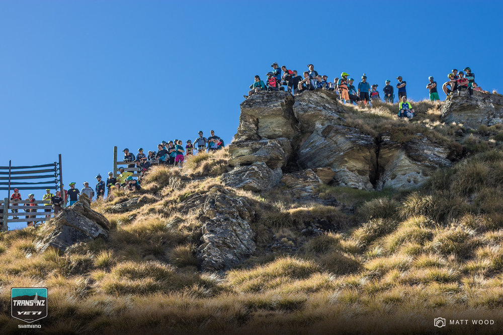 The Trans NZ Enduro's version of 'Heckler's Rock'