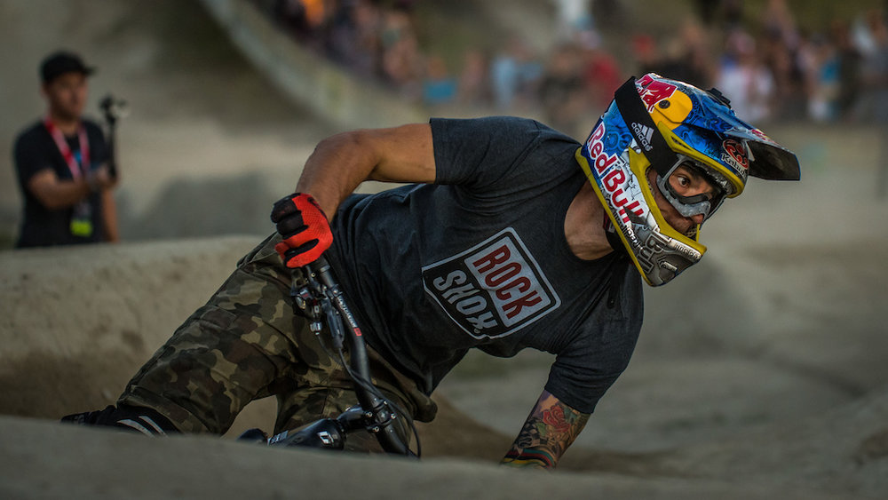 King Tomas Slavik coasts to his coronation with a smooth Ultimate Pump Track Challenge presented by RockShox run, which took him to the semi-finals and a 40-point, fifth place finish.