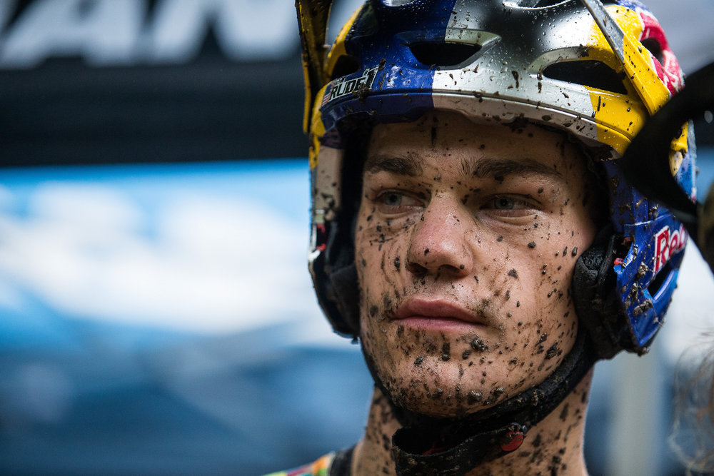 Richie Rude would have been the last man on course today and suffered the worst of conditions