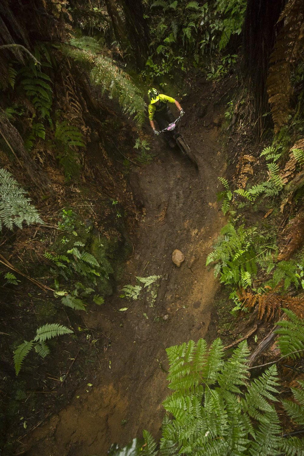 Bex is a savvy rider in the mud, she just came third at the NZ Enduro and we all know how that race went!