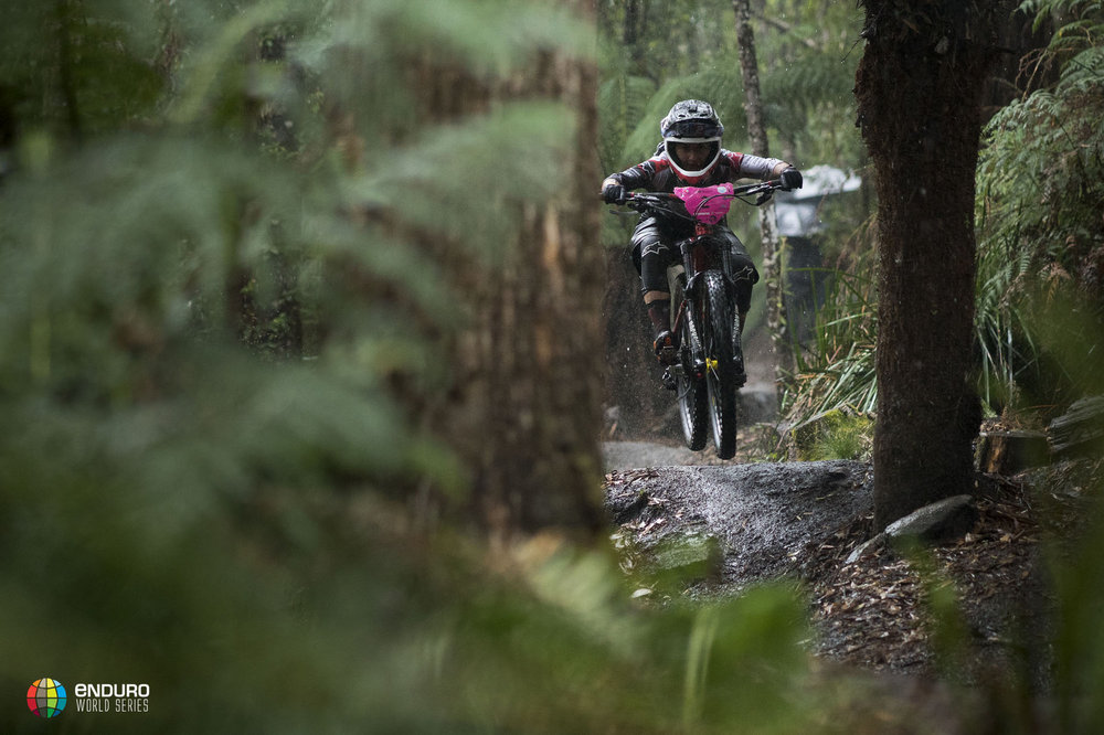 Isabeau Courdurier takes her first EWS win