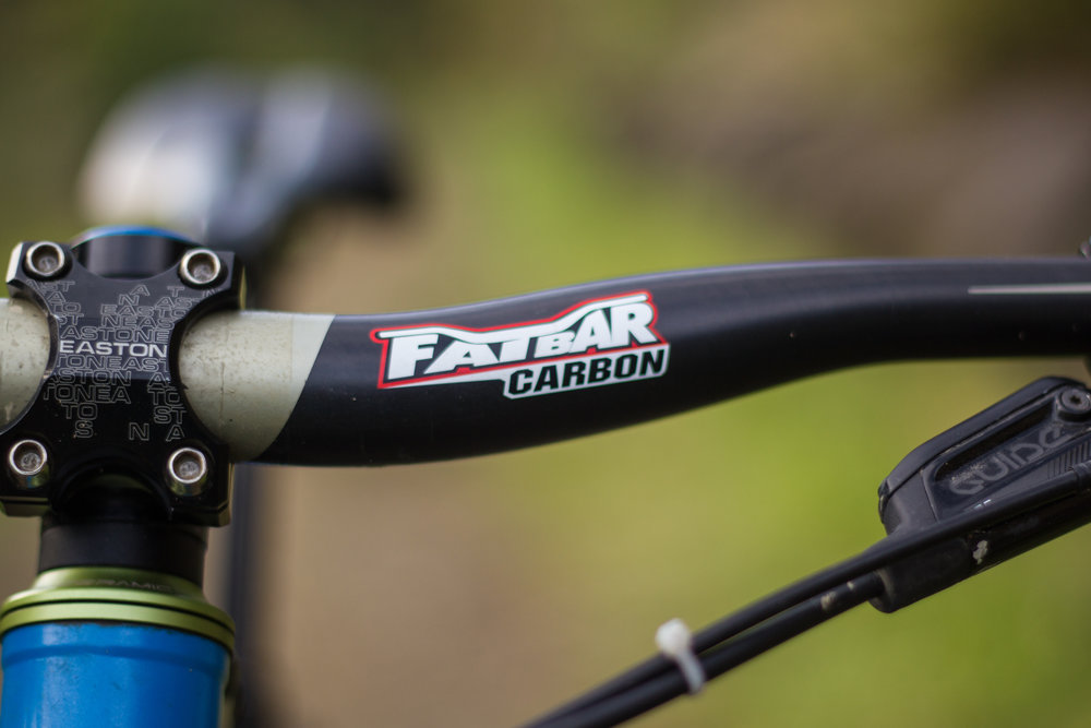 Renthal carbon bars