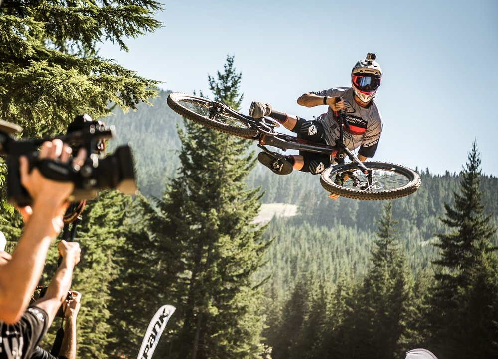 Sam Blenkinsop in action for his NORCO Factory team last year.