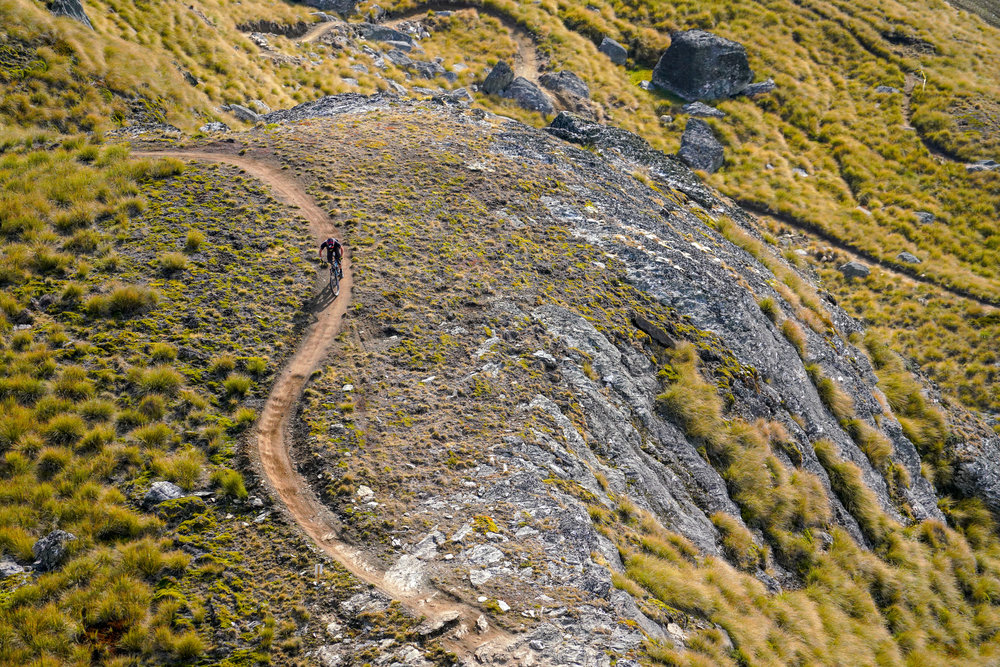 Riding at Cardrona feels like your own private bike park