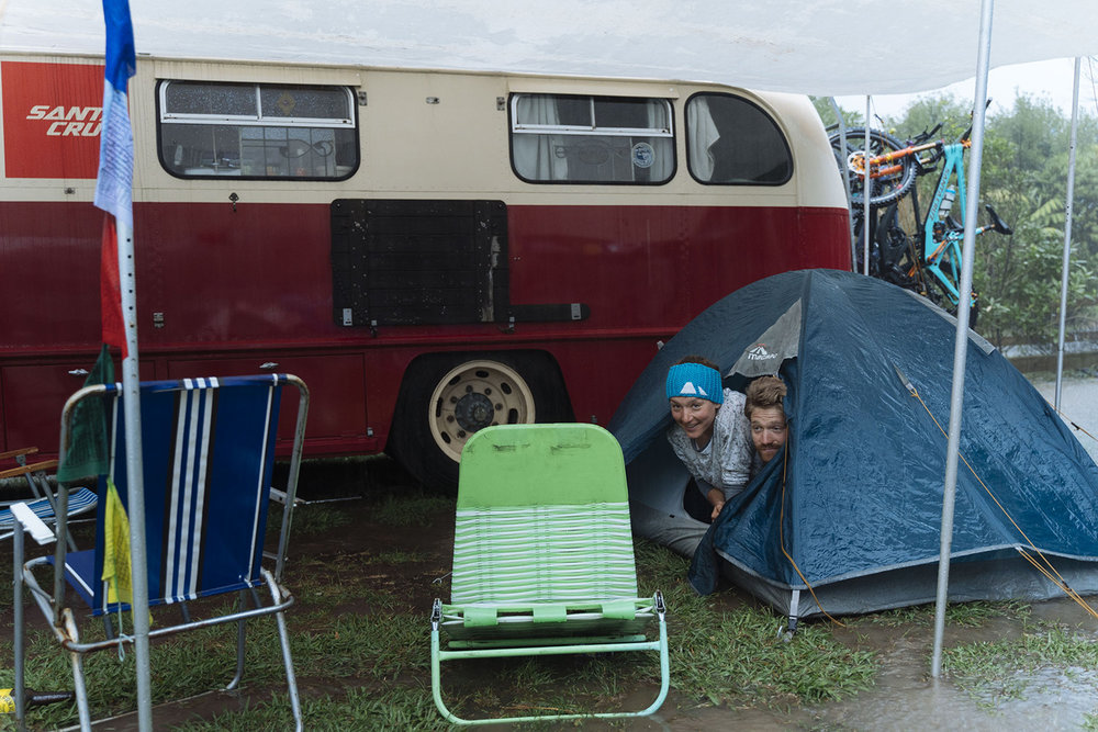 Tents and rain are notoriously sketchy.