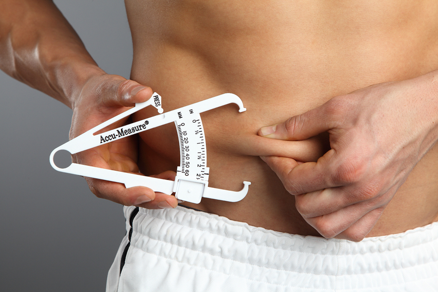 Body fat callipers - A cheap and effective method of measuring body fat.