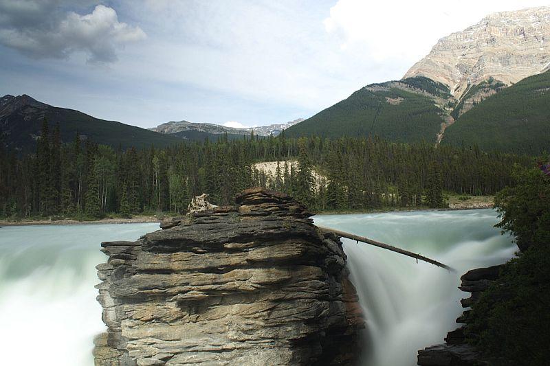 Athabaska Falls by Kody K.