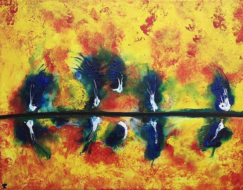 Blue Flare by Jesse K.