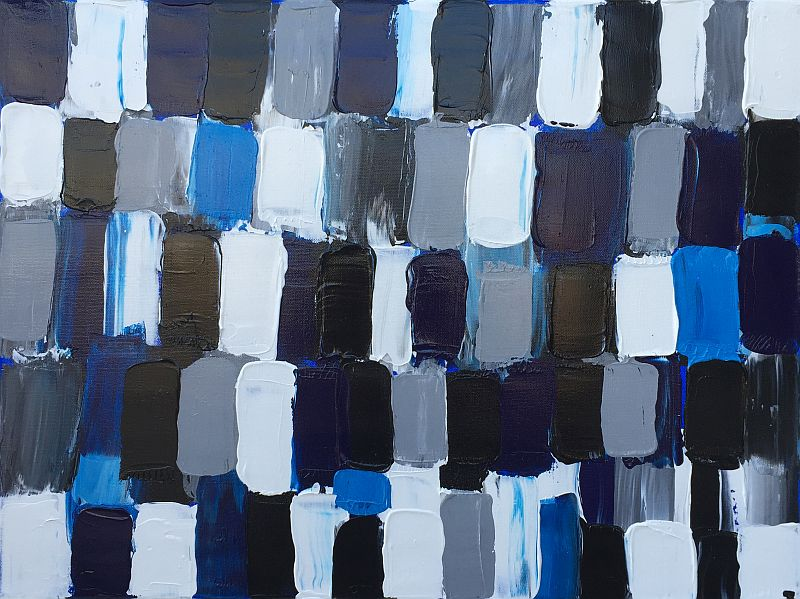 Office Blue by Jesse K.