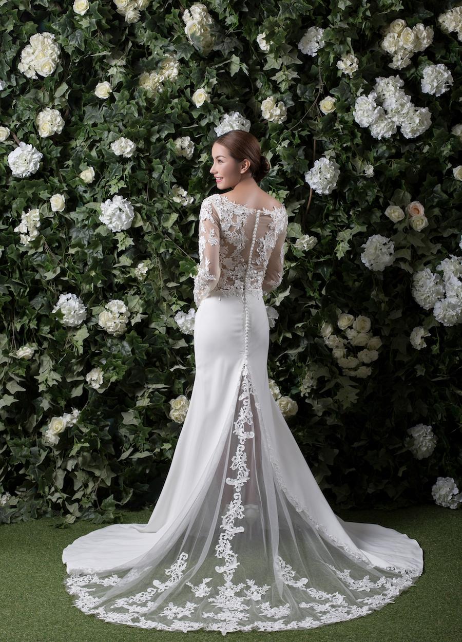 Style 1807 - Fabric: Crepe & Luxury Lace