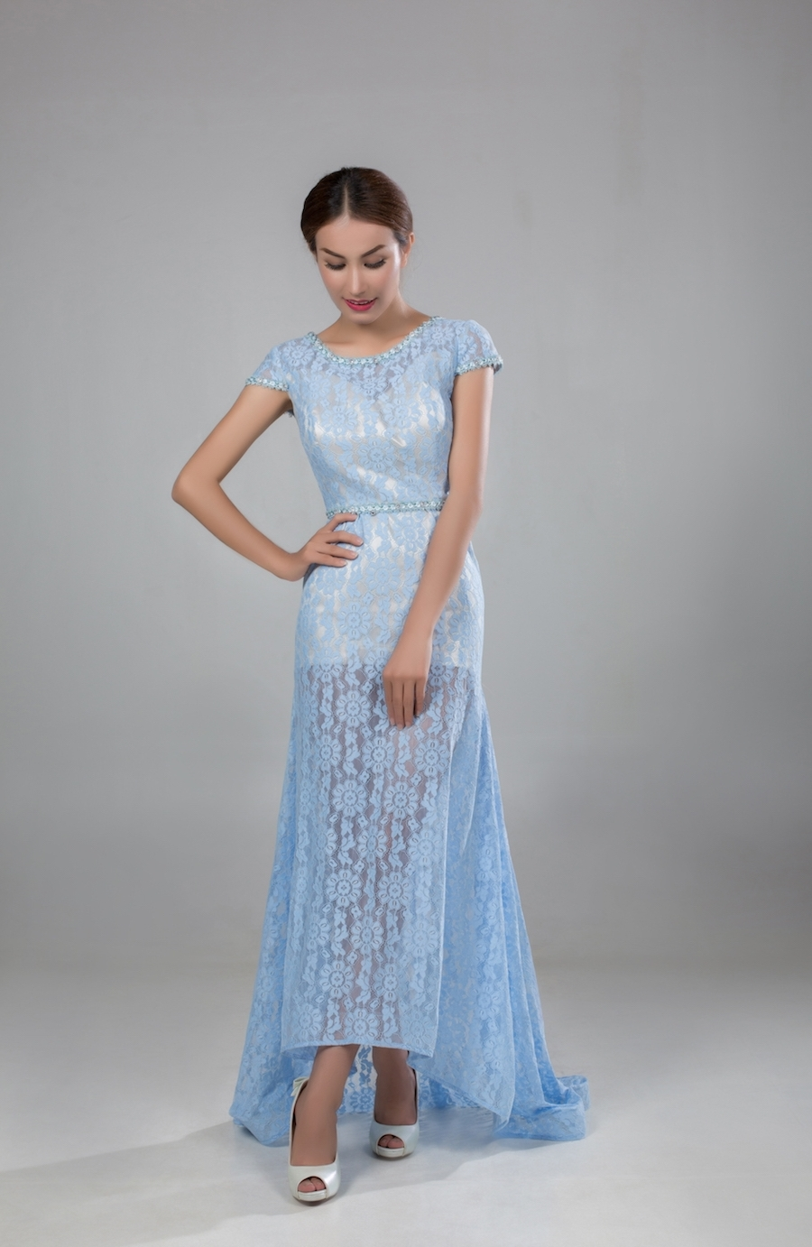 Style PR1806 - Fabric: Luxury Lace