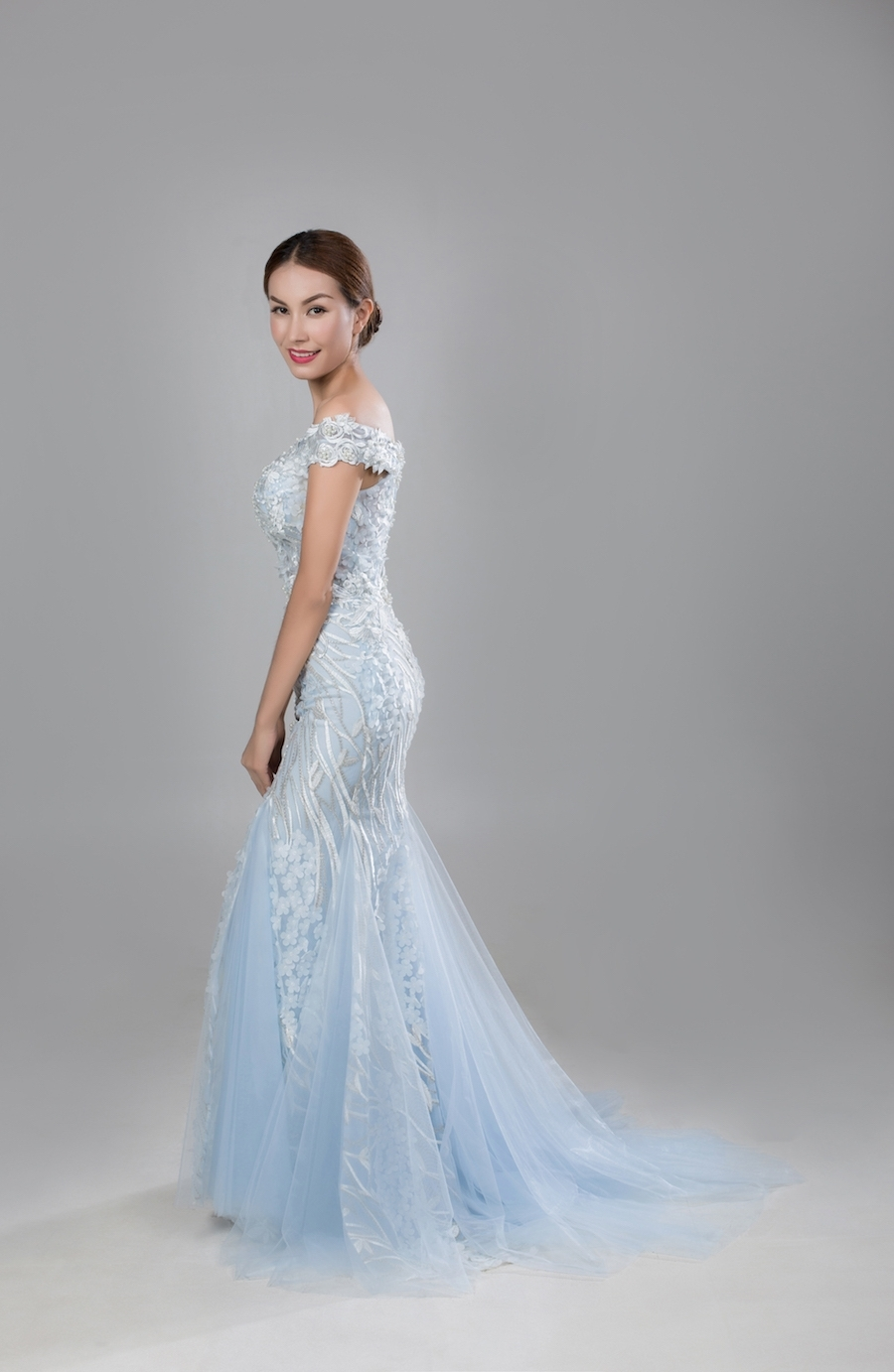 Style PR1808 - Fabric: Tulle & Luxury Lace