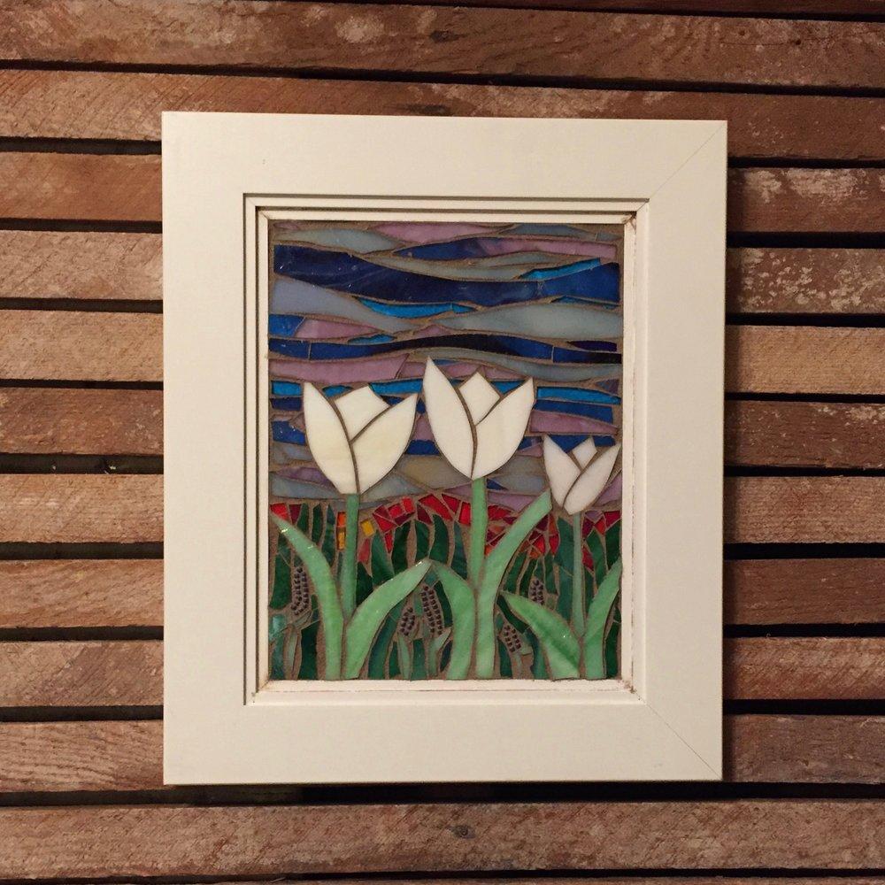 Cabinet Tulips hung.jpg