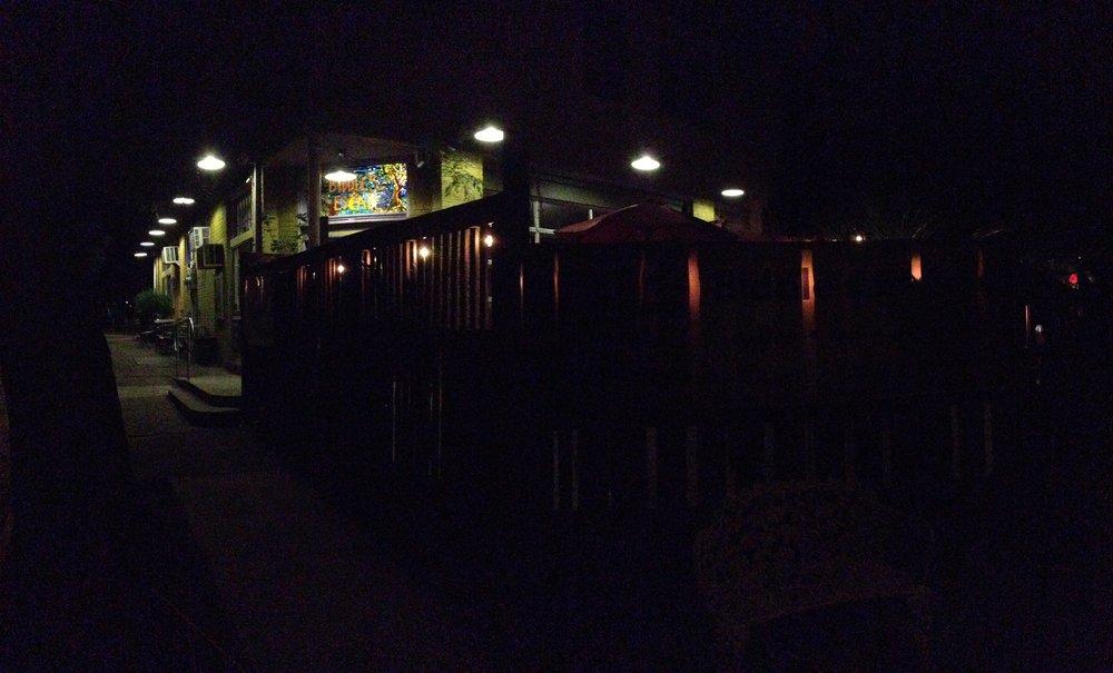 Biddle's Escape at night
